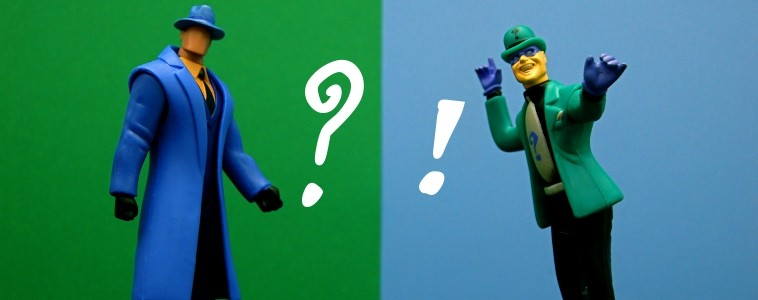 The Question et The Riddler